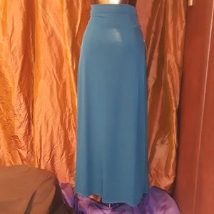 Dresses & Skirts - **** Honey & Lace Maxi Skirt in Deep Peacock Blue